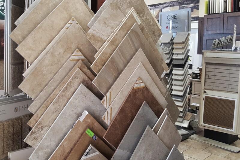 Tile flooring in Cedar City, UT from the Sunset Flooring showroom