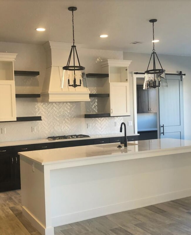 Kitchen backsplash in Mesquite, NV from Sunset Flooring