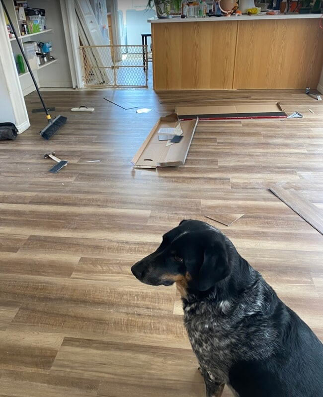 Laminate floor in Santa Clara, UT from Sunset Flooring