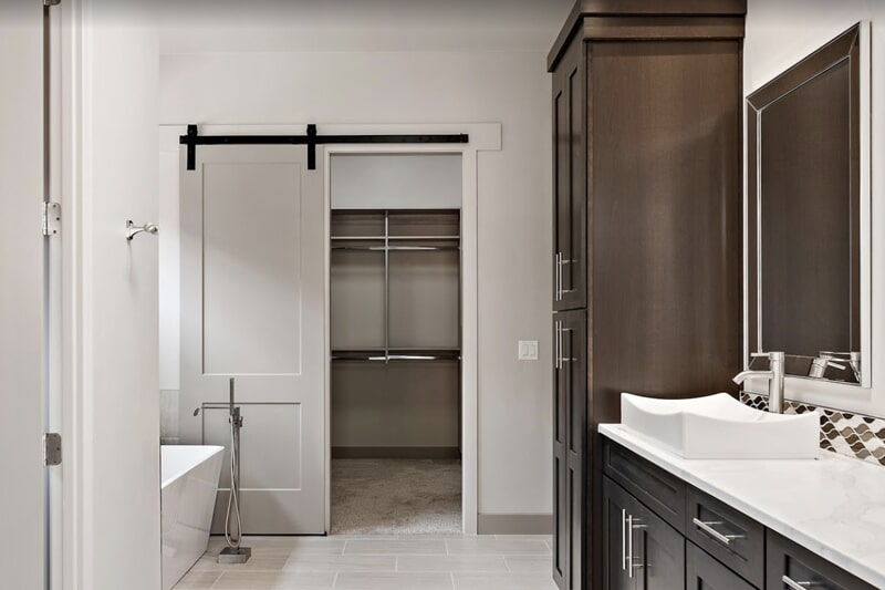 Bathroom cabinets in St. George, UT from Sunset Flooring