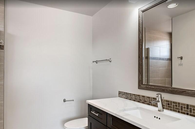 Bathroom countertop in Santa Clara, UT from Sunset Flooring