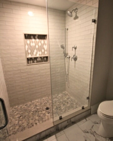 Bathroom tile in Cape Cod, MA from Paramount Rug Company
