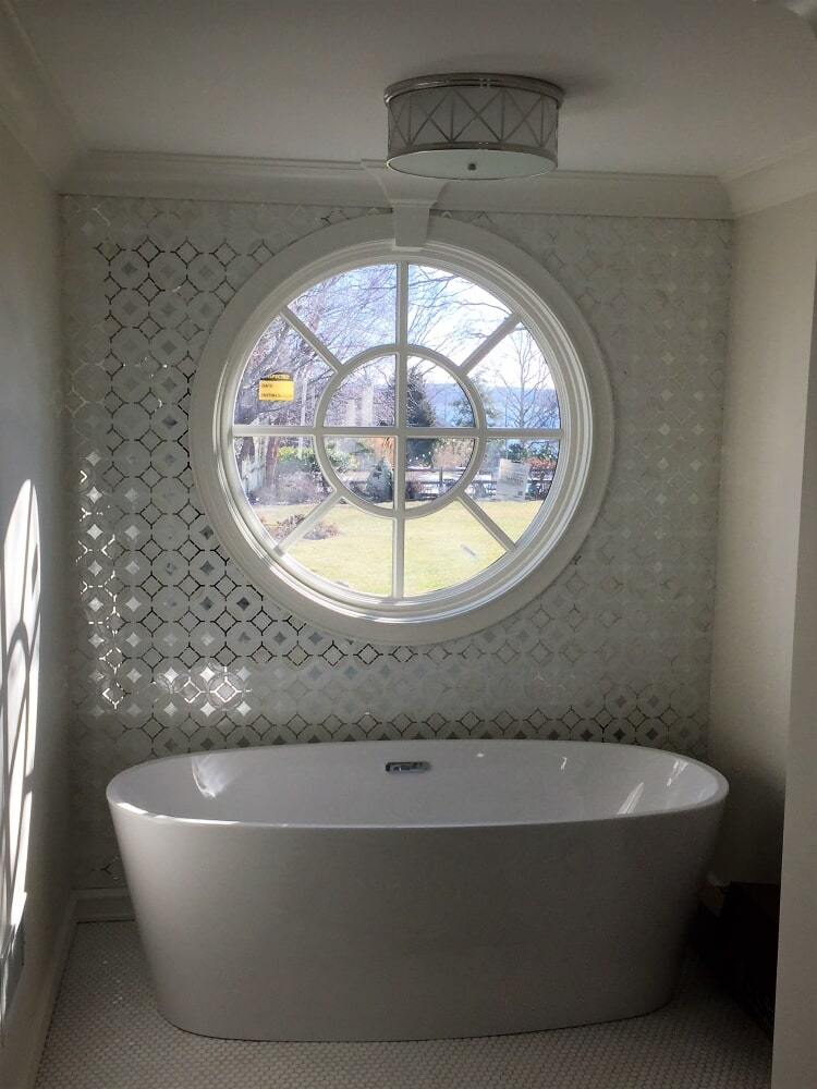 Bathroom remodel in Barnstable, MA from Paramount Rug Company