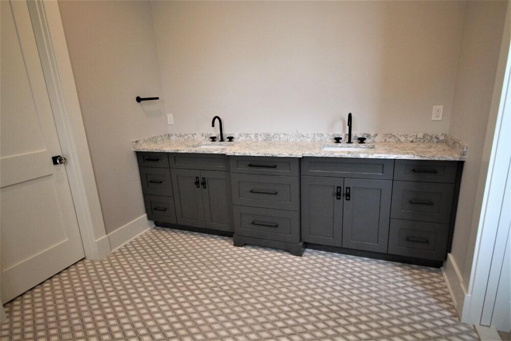 New Seabury Mashpee  Cape Cod Dal Argyle Grey Polished Mosic Marble Floor in Barnstable, MA from Paramount Rug Company