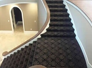 Carpet stairs in Sterling Heights, MI from Ultra Floors