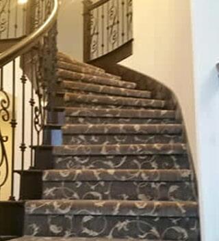 Carpet stair runner in Macomb, MI from Ultra Floors