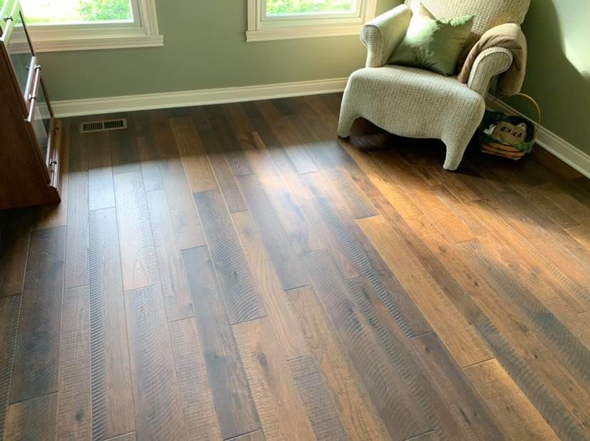 Hardwood flooring in Whiteland, IN from Griffith Flooring Service LLC