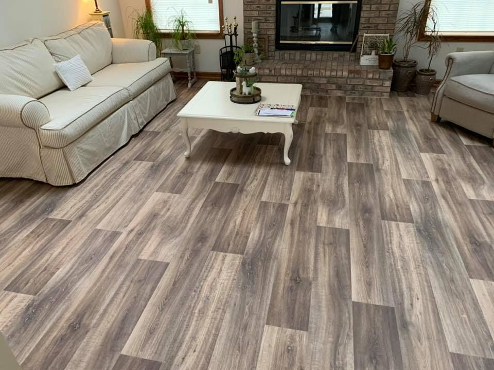 Vinyl plank flooring in Franklin, IN from Griffith Flooring Service LLC