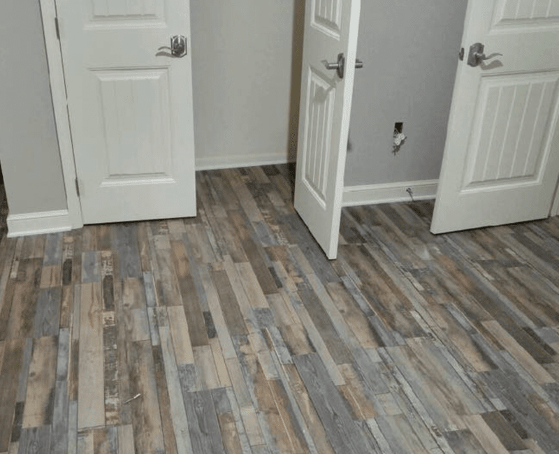Modern wood look flooring in Conway, AR from Conway Flooring & Design