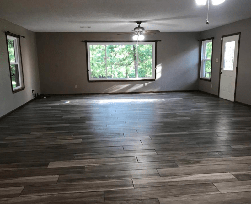 Rustic hardwood flooring in Menifee, AR from Conway Flooring & Design