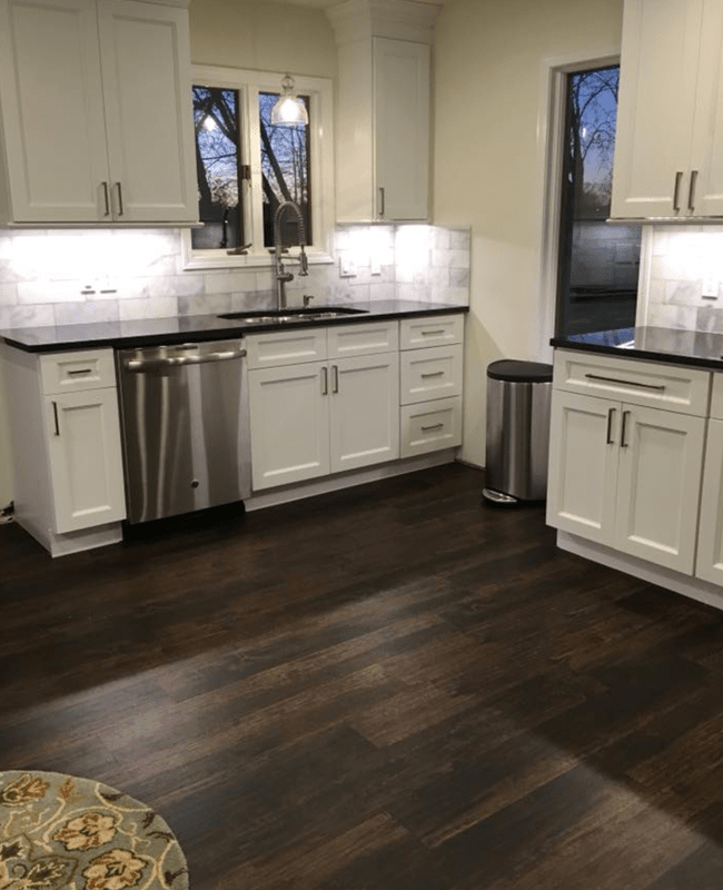 Waterproof wood look flooring in Menifee, AR from Conway Flooring & Design