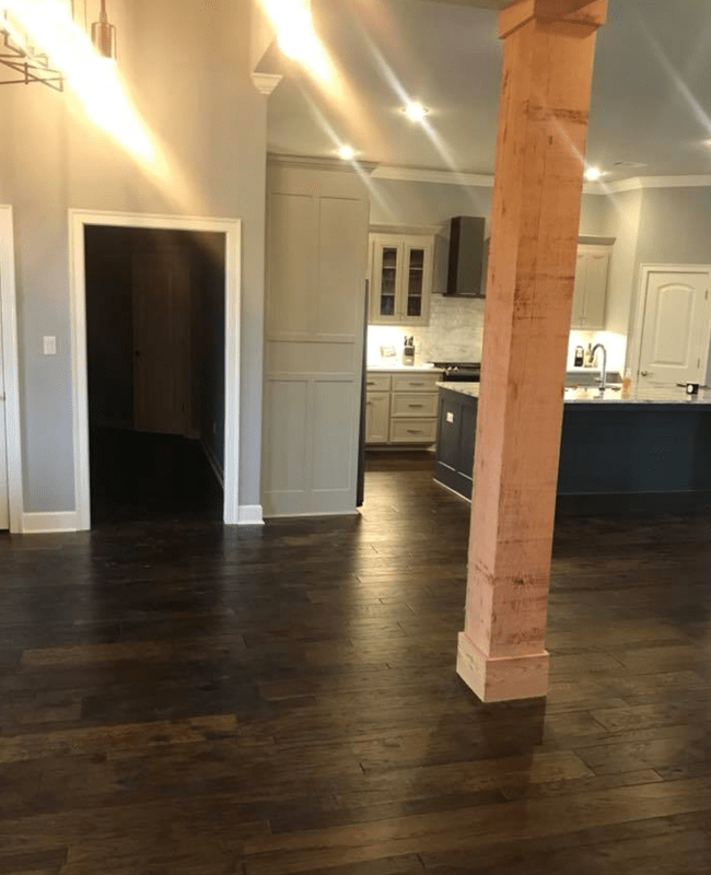 Dark wood look flooring in Greenbrier, AR from Conway Flooring & Design