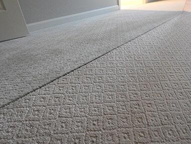 Modern carpet installation in Millsboro, DE from Room Flippers