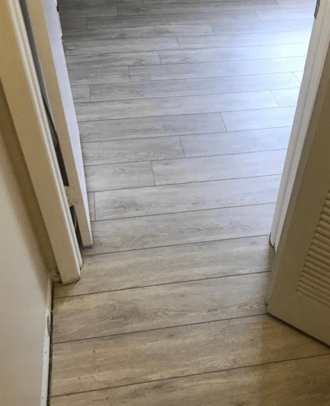 Narrow plank hardwood flooring in Fountainebleau, FL from Doral Hardwood Floor