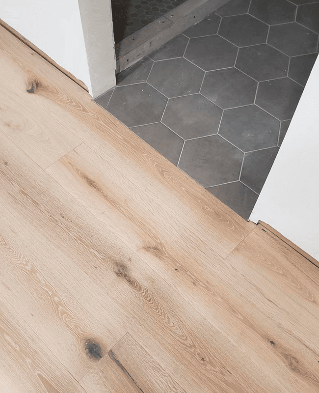 Professional flooring transitionin Fountainebleau, FL from Doral Hardwood Floor