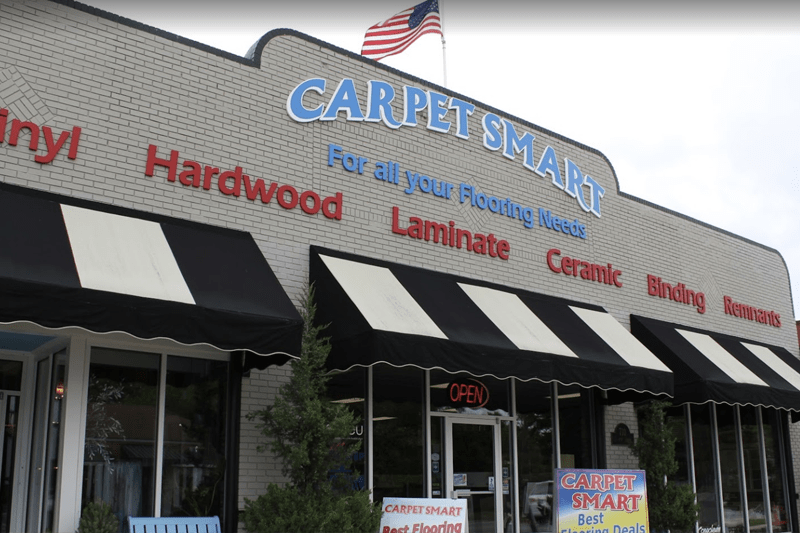 Carpet Smart showroom near Wilmington, NC