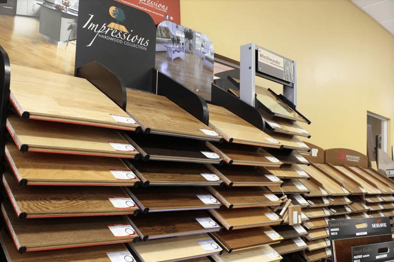 Hardwood flooring in Wrightsville Beach, NC from the Carpet Smart showroom