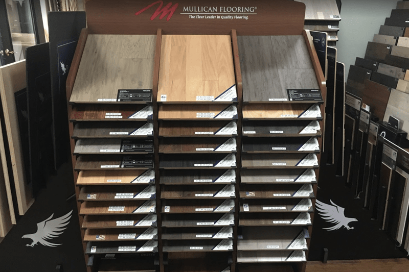 Wood flooring in Carolina Beach, NC from the Carpet Smart showroom