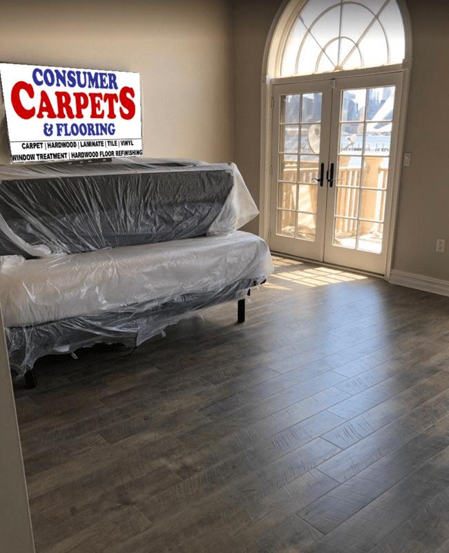 Vinyl plank flooring in North Bergen, NJ from Consumer Carpets & Flooring