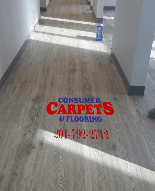 Commercial vinyl flooring in Jersey City, NJ from Consumer Carpets & Flooring
