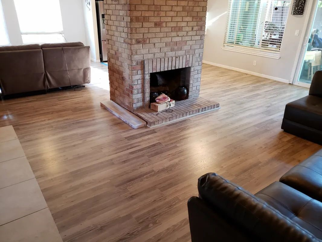 Classic wood look flooring in Sacramento, CA from Crestview Flooring Inc