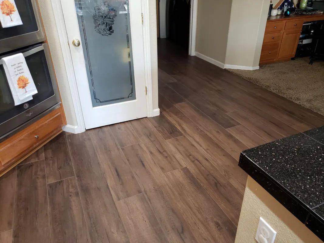 Waterproof wood look flooring in Folsom, CA from Crestview Flooring Inc
