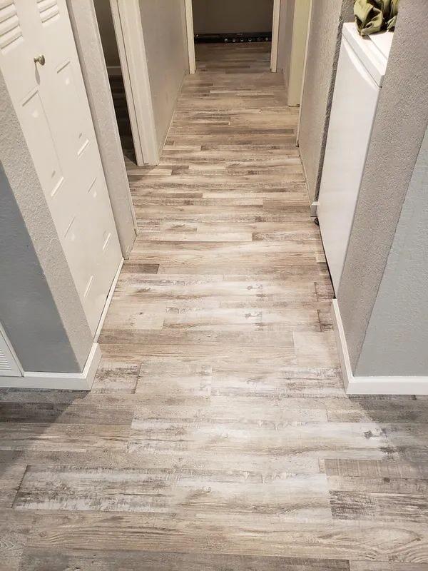 Wood look flooring in Roseville, CA from Crestview Flooring Inc
