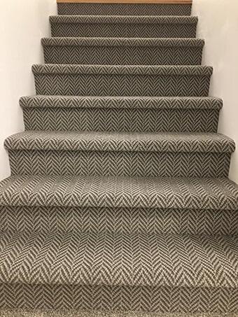 Bravo carpet stairs in Kansas City, MO from KC Floorworx