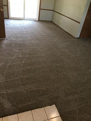 Carpet floors in Lee Wood, KS from KC Floorworx