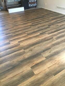 Happy Feet- Chestnut hardwood flooring in Shawnee, KS from KC Floorworx