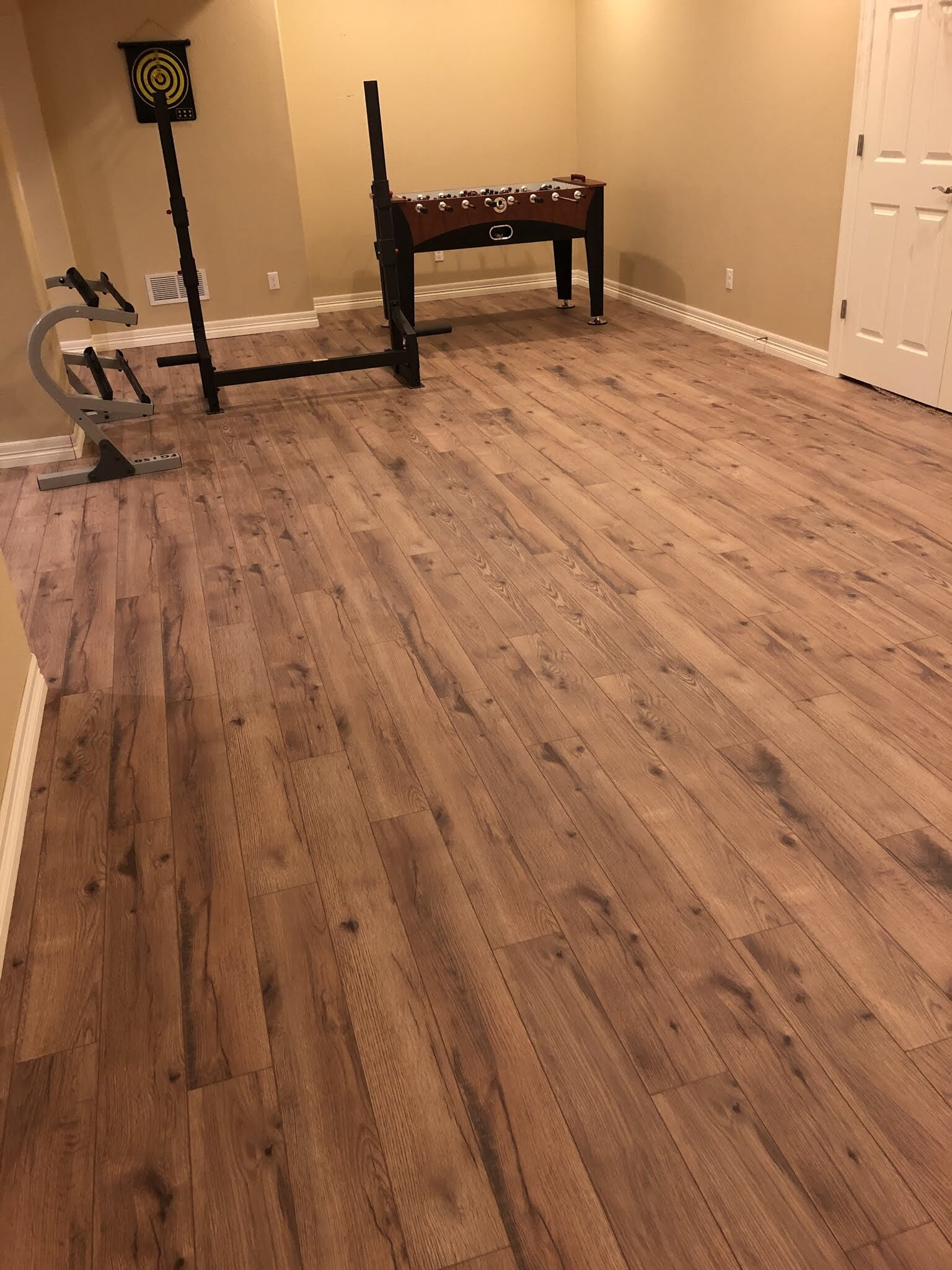 Wooden plank floors in Lakewood, CO from FH Flooring