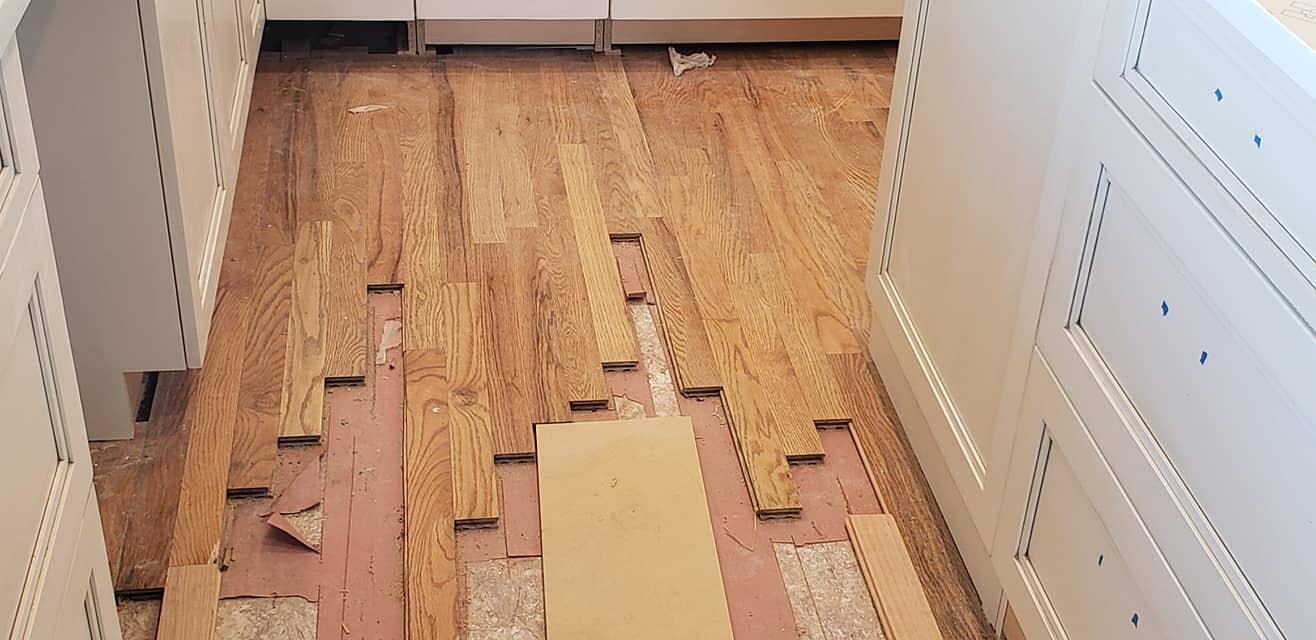Hardwood flooring installation in Arvada, CO from FH Flooring