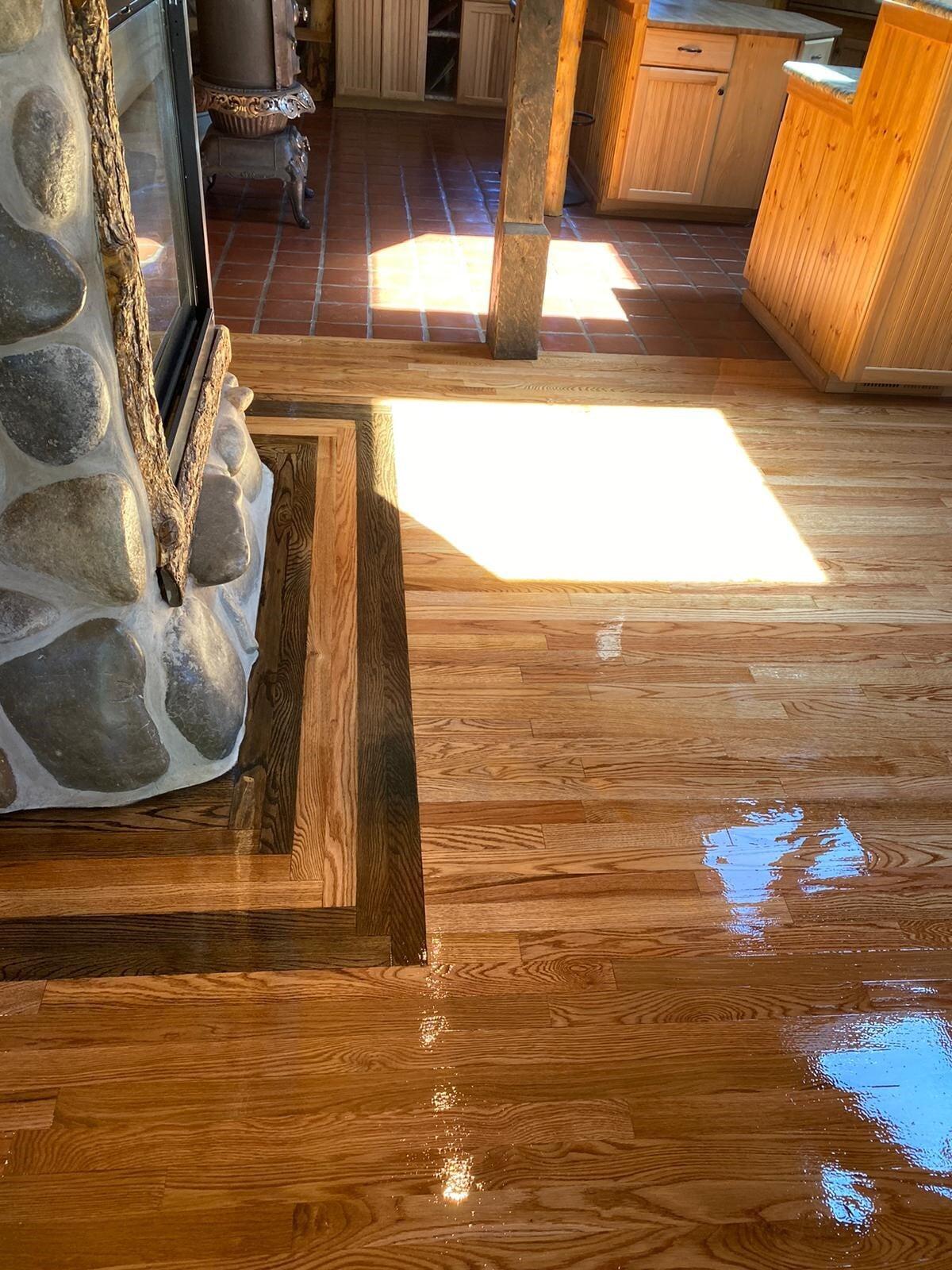 Luxury vinyl plank floors in Centennial, CO from FH Flooring
