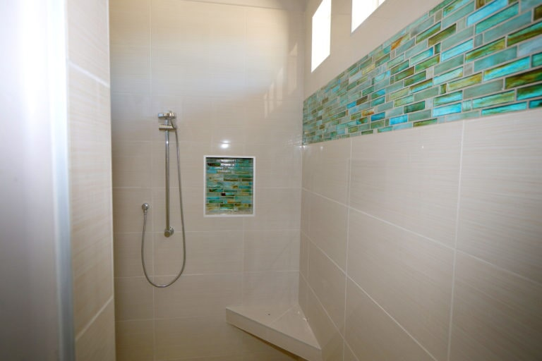 Shower tiles in Summerlin, NV from Beno's Flooring