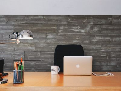 Herringbone wood wall covering in Ontario from End Of The Roll