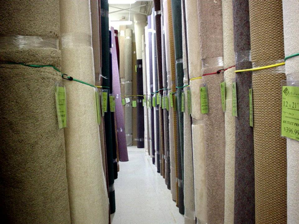 On sale carpet in Toledo, OH from Midwest Flooring Outlet