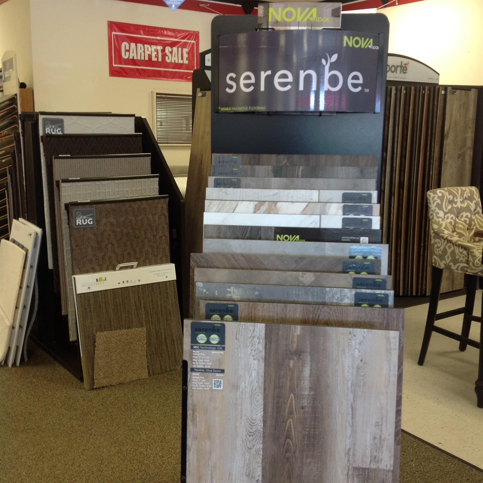 Wood flooring in Englewood, CO from the Carpet Mart and More Flooring Center showroom