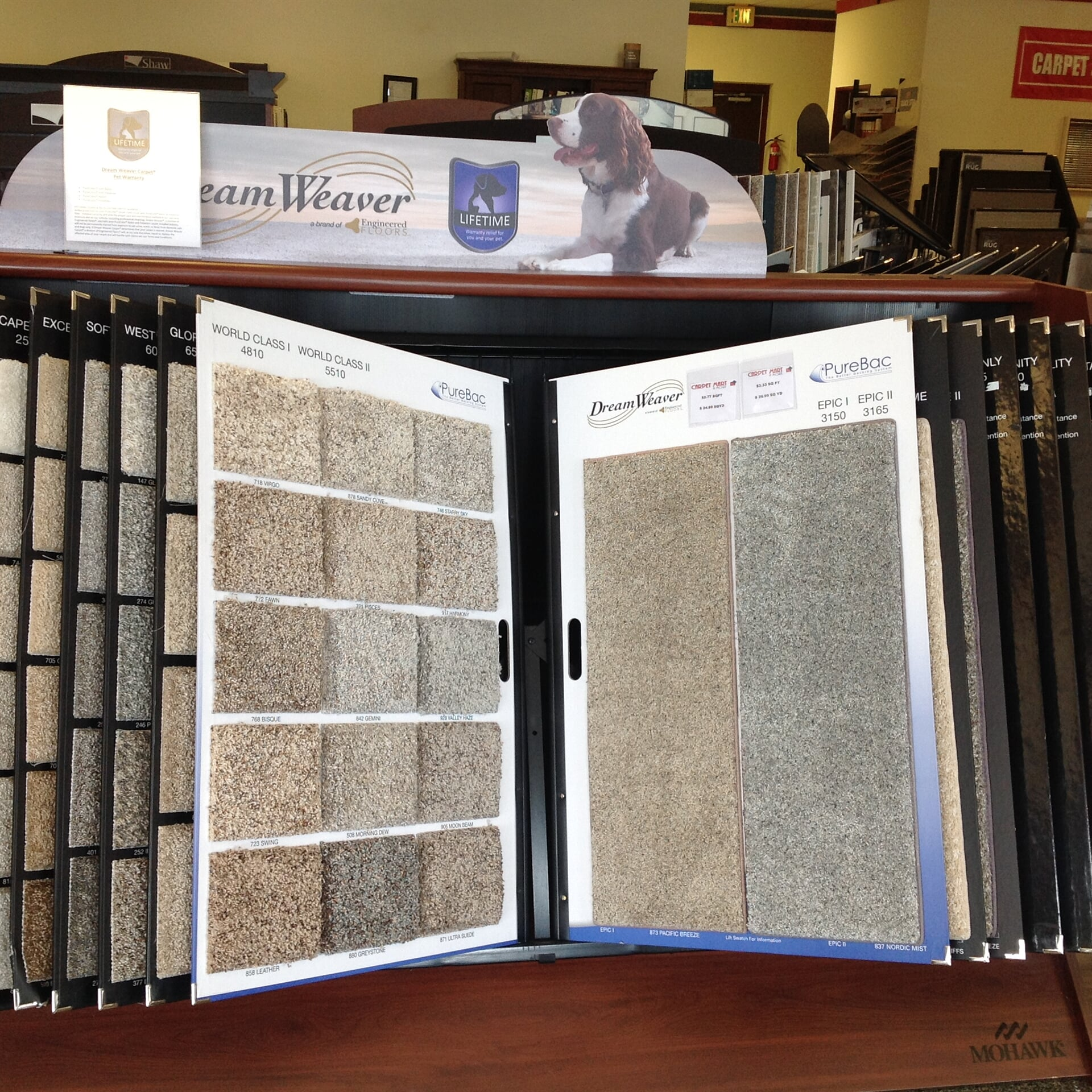 Carpet in Centennial, CO from the Carpet Mart and More Flooring Center showroom
