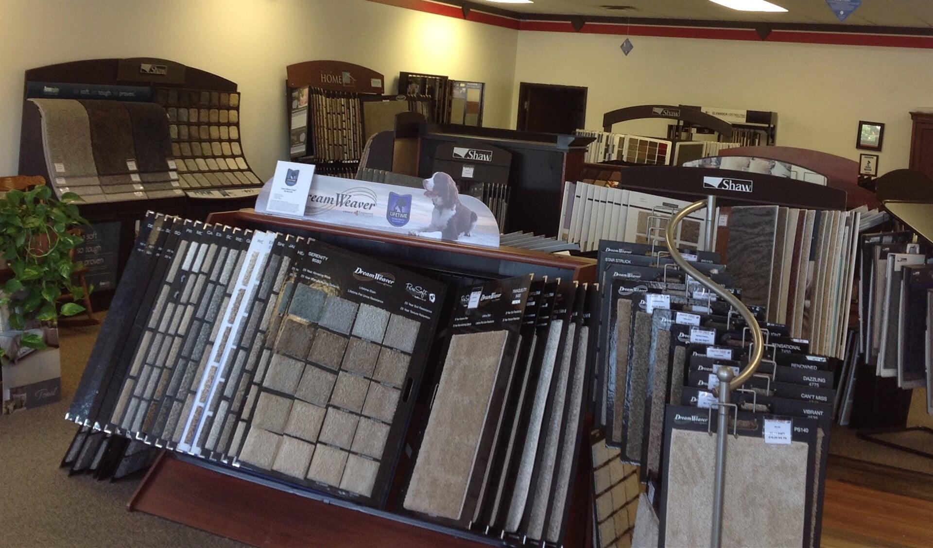 Carpet floors in Littleton, CO from the Carpet Mart and More Flooring Center showroom