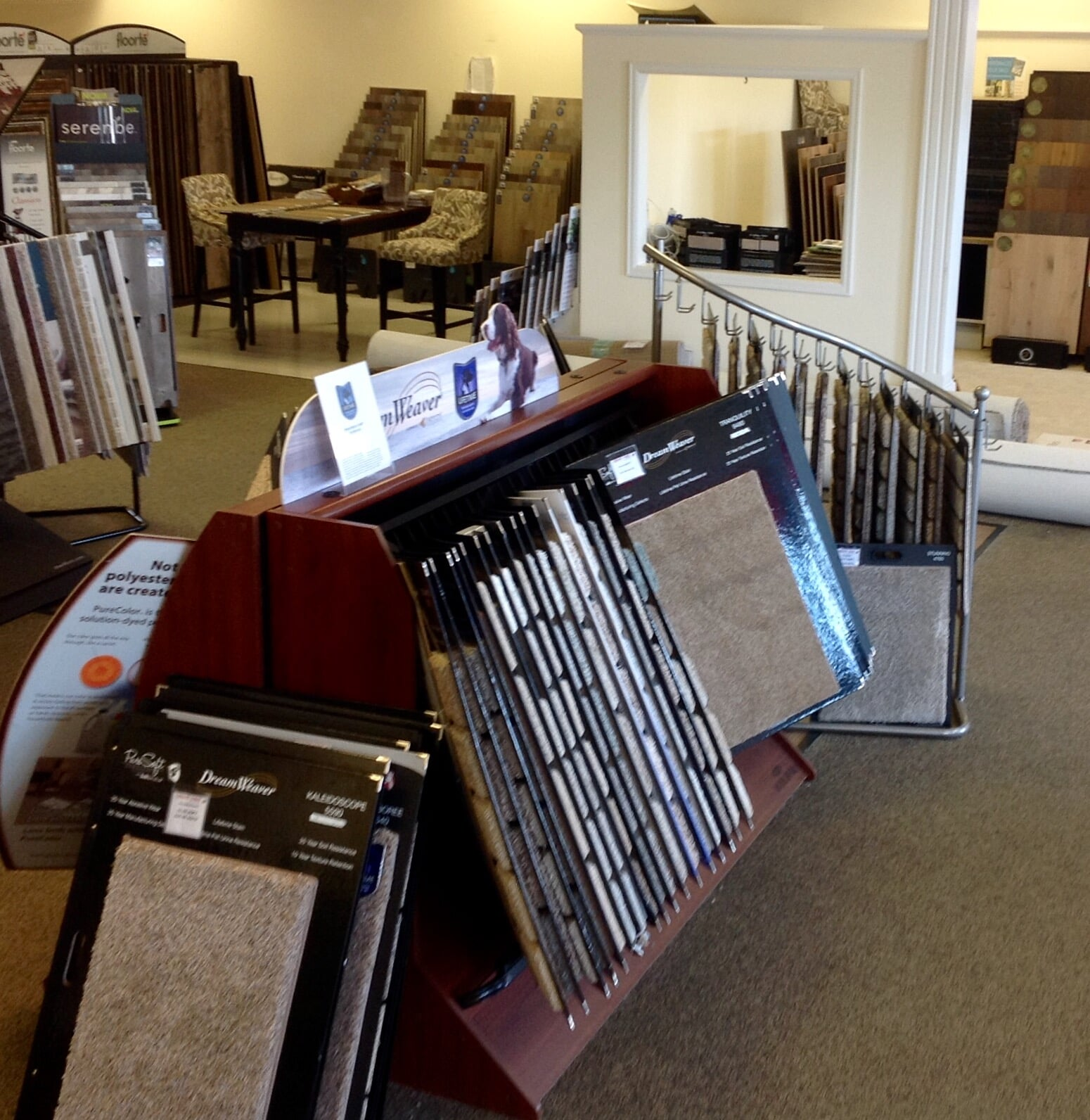 Carpet flooring in Highlands Ranch, CO from the Carpet Mart and More Flooring Center showroom