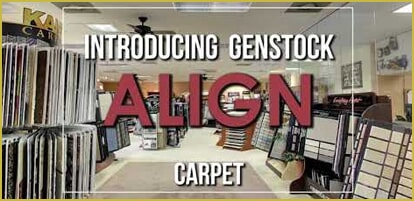 Introducing Genstock Align carpet from General Floor in Edison, NJ