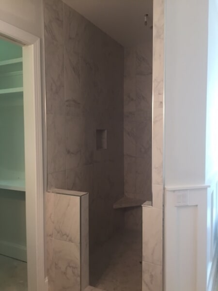 Custom shower in Middle, TN from City Tile