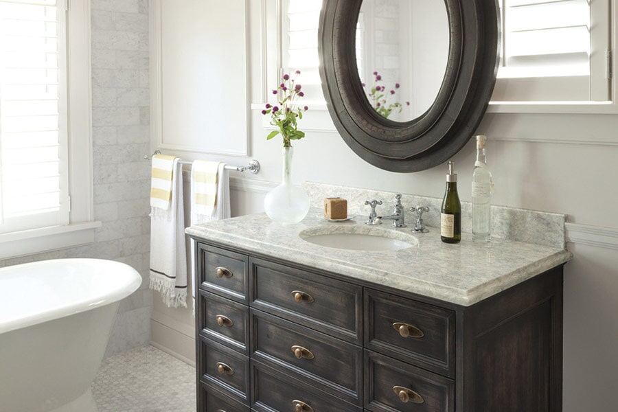 Bathroom vanity in Kenton, OH from House of Color