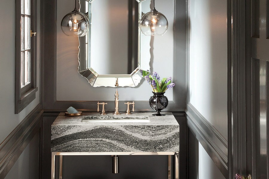 Stone vanity in Tiffin, OH from House of Color