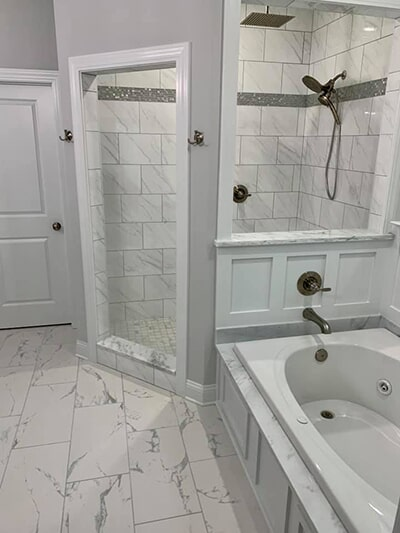 Bathroom tile in Myrtle Beach, SC from Waccamaw Floor Covering