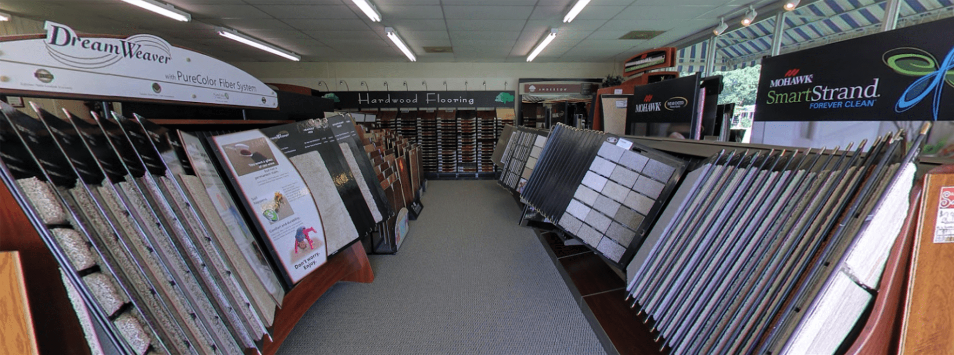 Carpet floors in Galivants Ferry, SC from the Waccamaw Floor Covering showroom