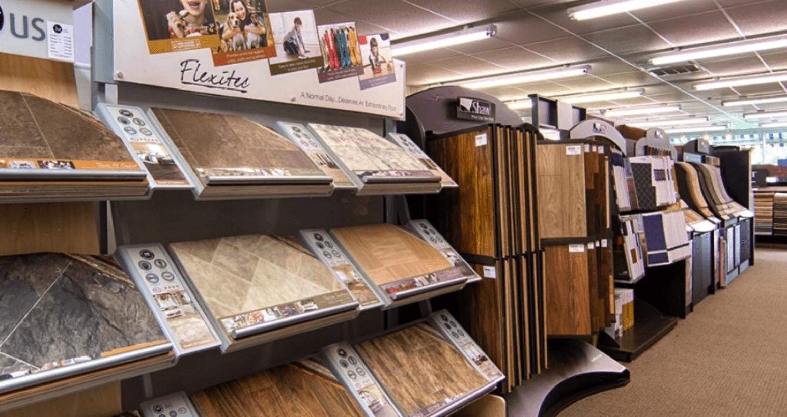 Tile flooring in Georgetown, SC from the Waccamaw Floor Covering showroom