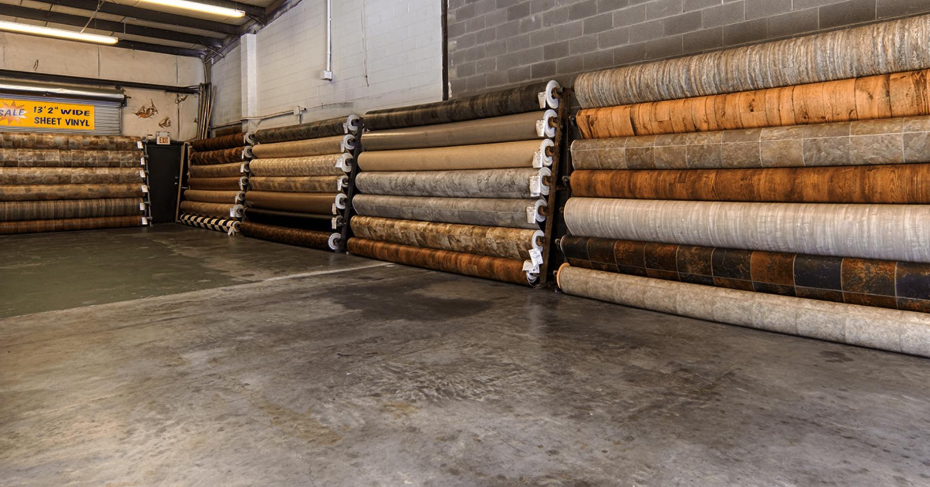 Vinyl flooring in Myrtle Beach, SC from the Waccamaw Floor Covering showroom