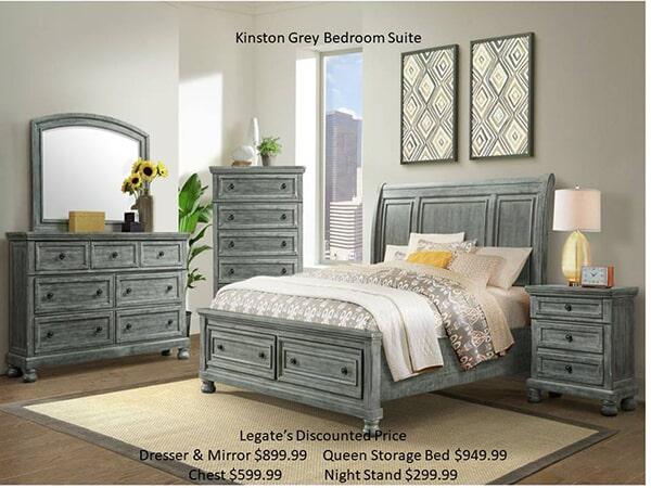 kingston grey bedroom
