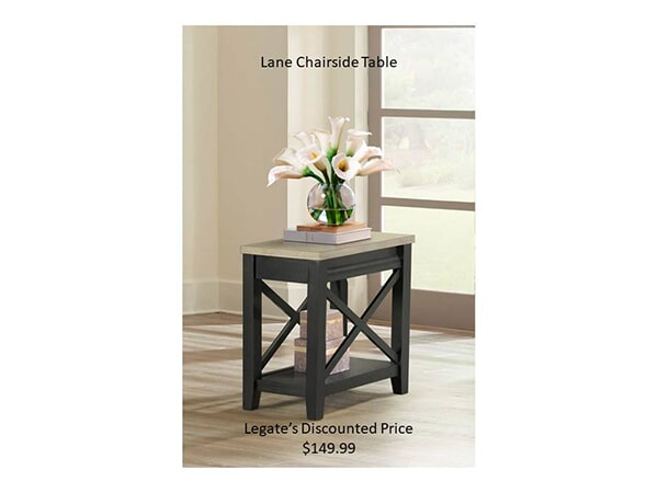 Lane chairside table